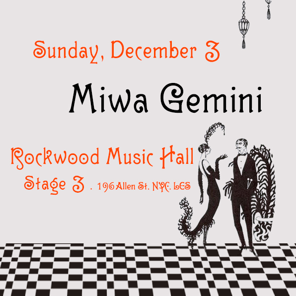 Holiday Show at Rockwood Music Hall - stage 3    Tickets Here