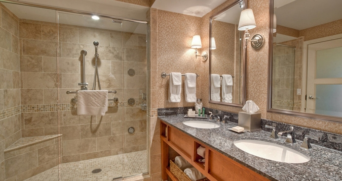 Exceptional Hard Rock Hotel And Casino Tulsa: The Walk In Shower.