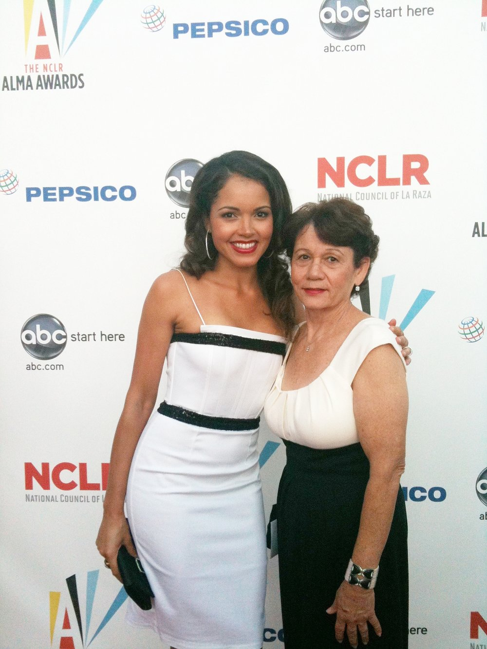 At the NCLR Awards. -
