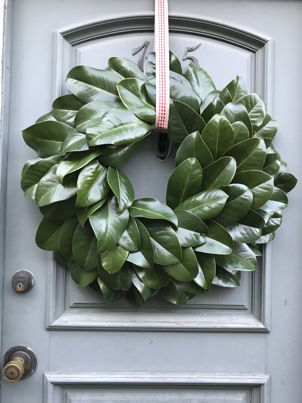 Diy Fresh Magnolia Wreath Susie Castillo