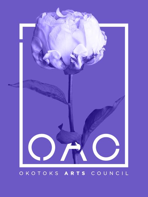 Okotoks Art Council Logo | Trout + Taylor www.troutandtaylor.com