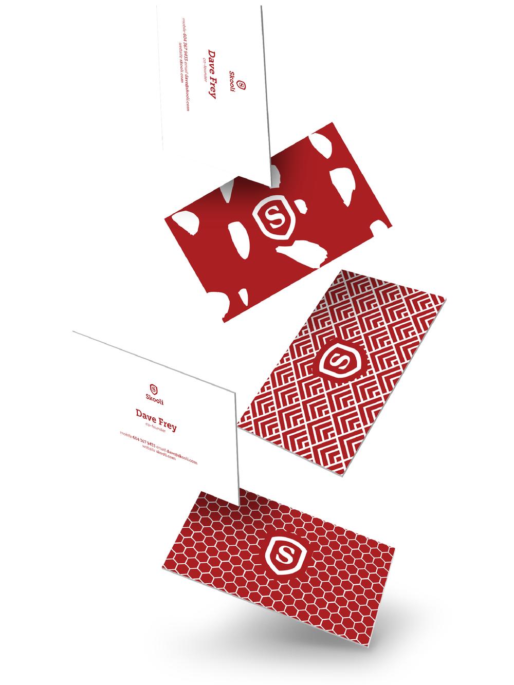 Skooli Logo + Business Card Design | Trout + Taylor www.troutandtaylor.com