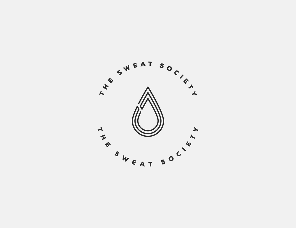 The Sweat Society Logo Design | Trout + Taylor www.troutandtaylor.com
