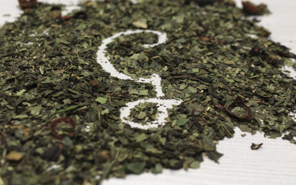 Grounded Tea Logo | Trout + Taylor www.troutandtaylor.com