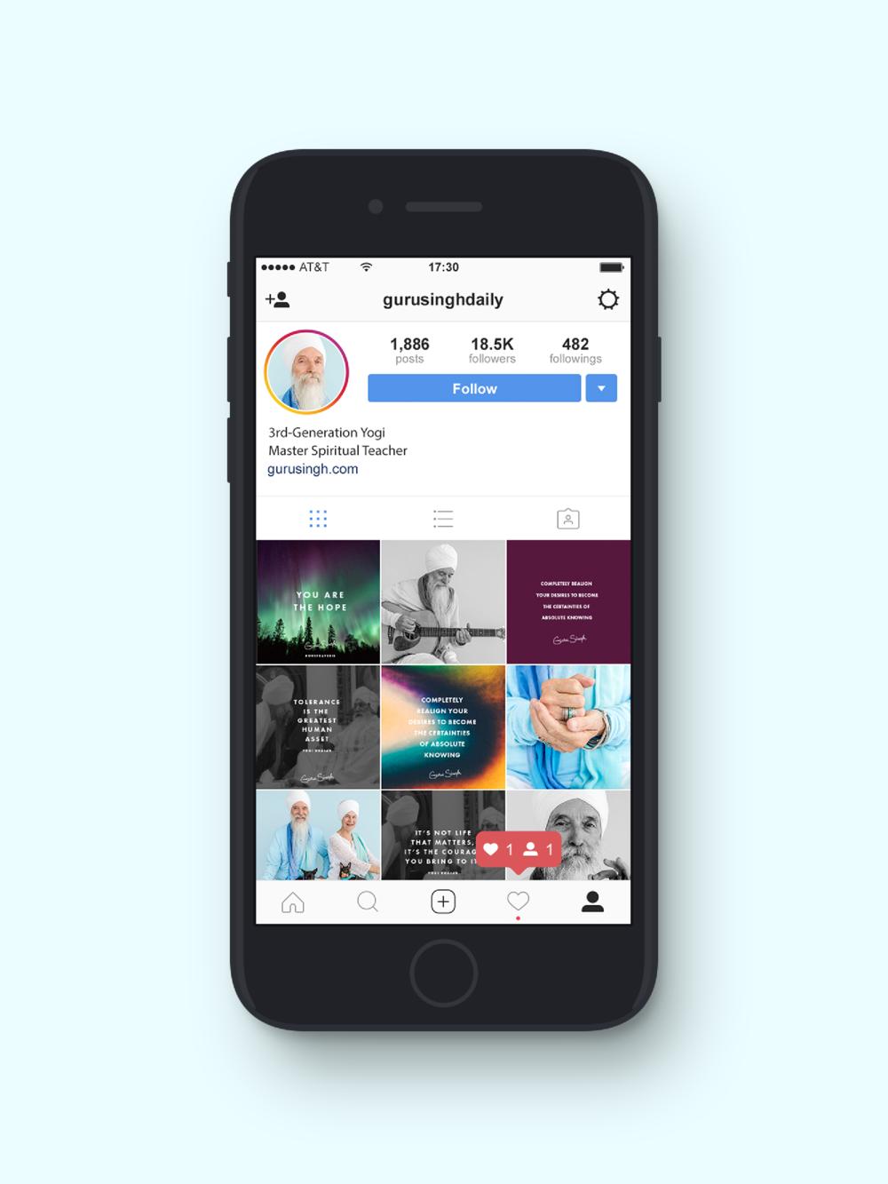 Guru Singh Social Media + Graphic Design | Trout + Taylor www.troutandtaylor.com