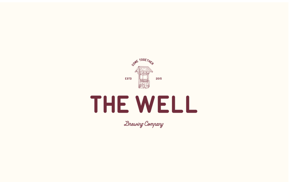 The Well Brewing Company Logo | Trout + Taylor www.troutandtaylor.com