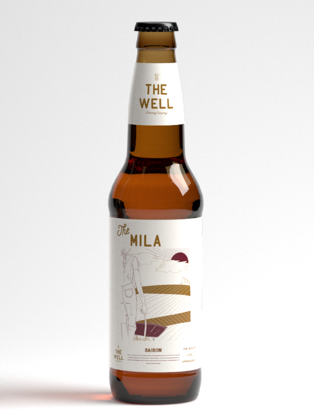 The Well Brewing Company Logo + Packaging Design | Trout + Taylor www.troutandtaylor.com