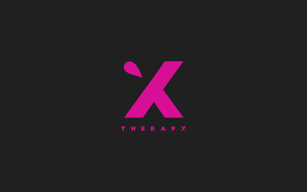 X Therapy Logo   Trout + Taylor www.troutandtaylor.com