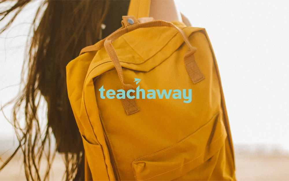 Teach Away Logo | Trout + Taylor www.troutandtaylor.com