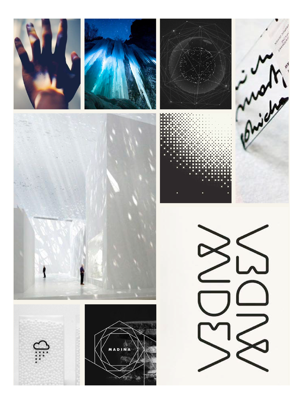 Lumen Farms Graphic Moodboard | Trout + Taylor www.troutandtaylor.com