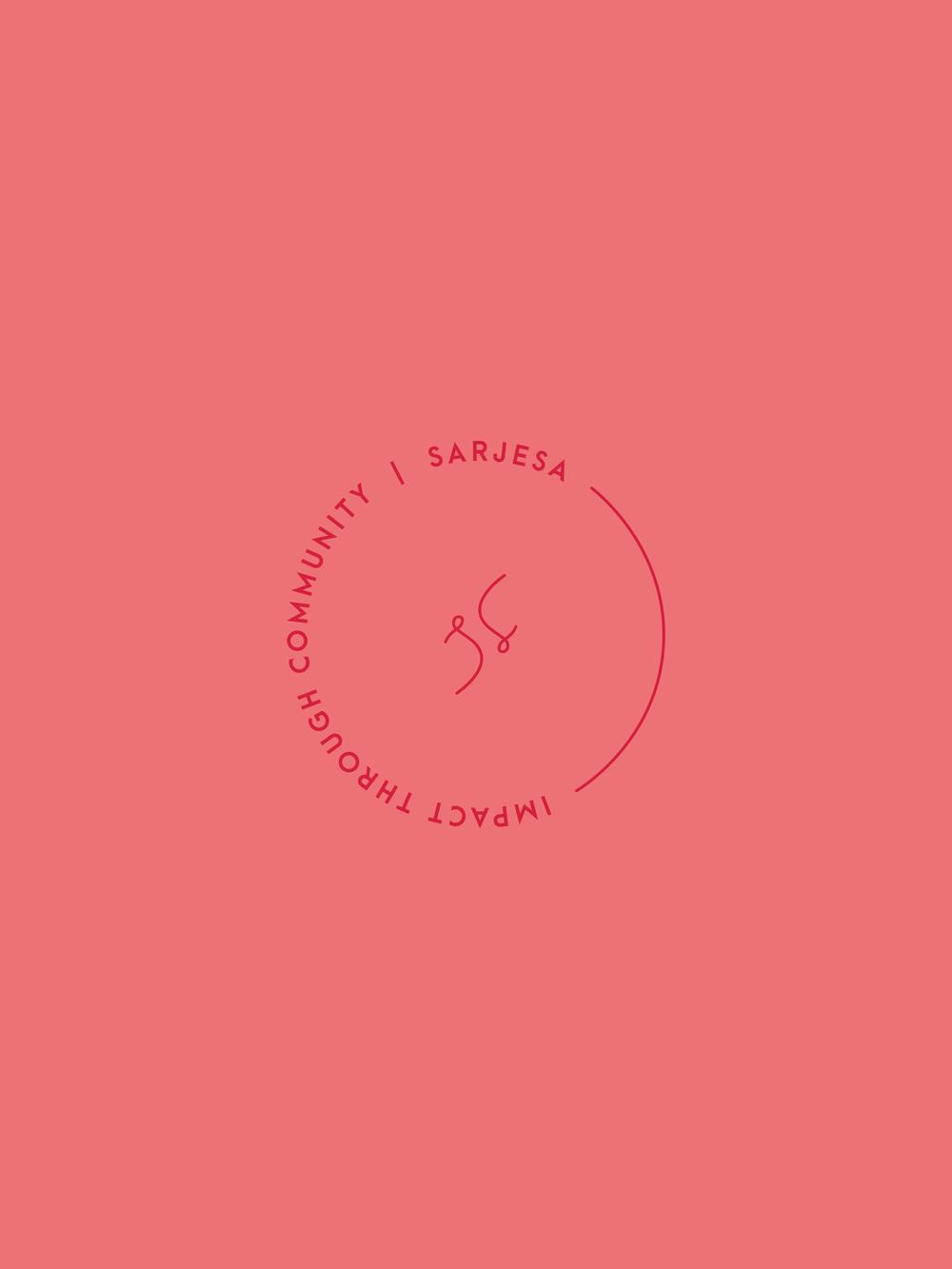 Sarjesa Logo + Identity Design | Trout + Taylor www.troutandtaylor.com