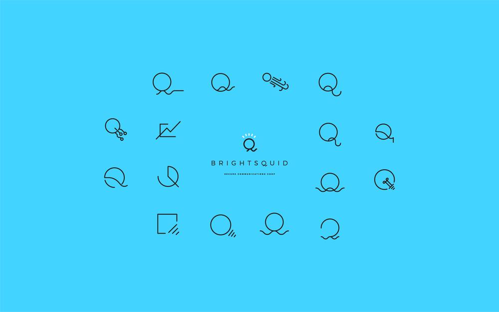 Brightsquid Logo Design | Trout + Taylor www.troutandtaylor.com