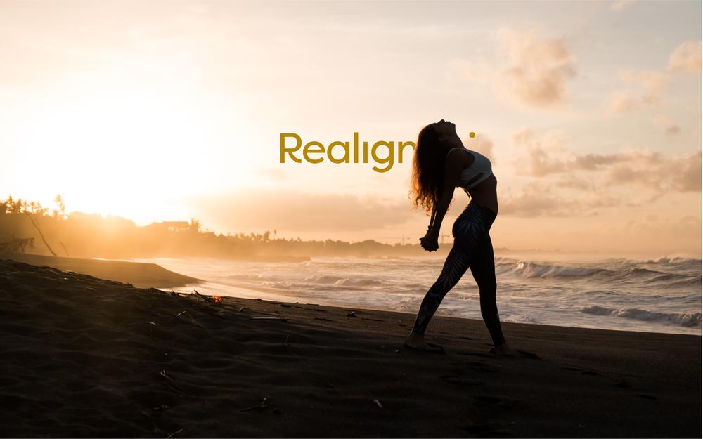 Realign Logo | Trout + Taylor www.troutandtaylor.com