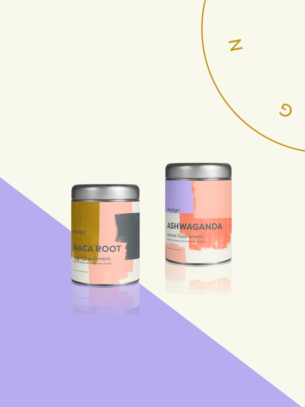 Realign Packaging Design | Trout + Taylor www.troutandtaylor.com