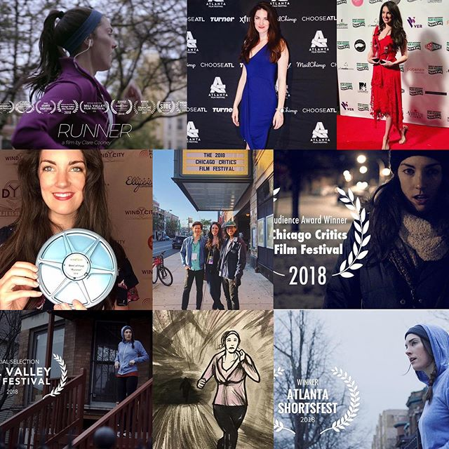 We've had quite the run! And it's not quite finished yet. All goes well, my short film RUNNER should be released to the world in just a few weeks! Stay tuned for some exciting news..... • • • • • • #shortfilm #filmfestivals #chicago #chicagofilm #filmmaker #femalefilmmaker #femalefilmmakers #actress #actor #actorslife #laurels #filmposter #awards #awardwinner #awardwinning #redcarpet #stepandrepeat #runnershortfilm #thriller #womeninfilm