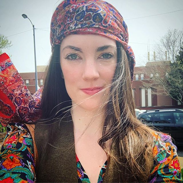 Thank you, Monday's commercial audition, for giving me an excuse to dress the way I want to dress all the damn time. And not wear a bra. #flowerchild • • • • • #playingdressup #woodstock #hippie #hippiestyle #actor #actorslife #70sfashion