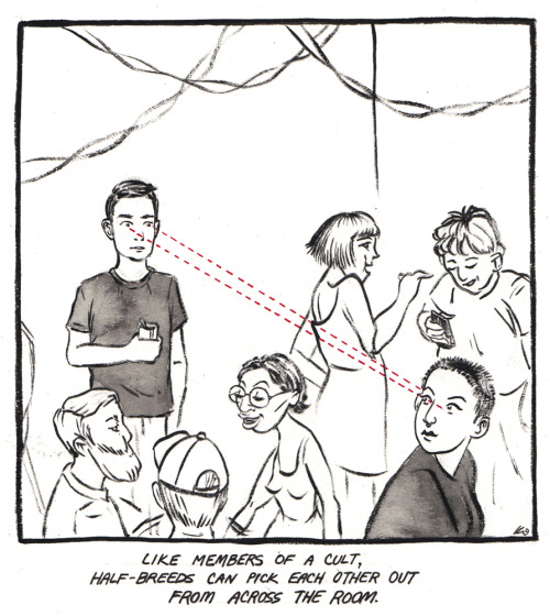 "Comic from ""Dirty Knees"" exhibit. Image courtesy of artist."