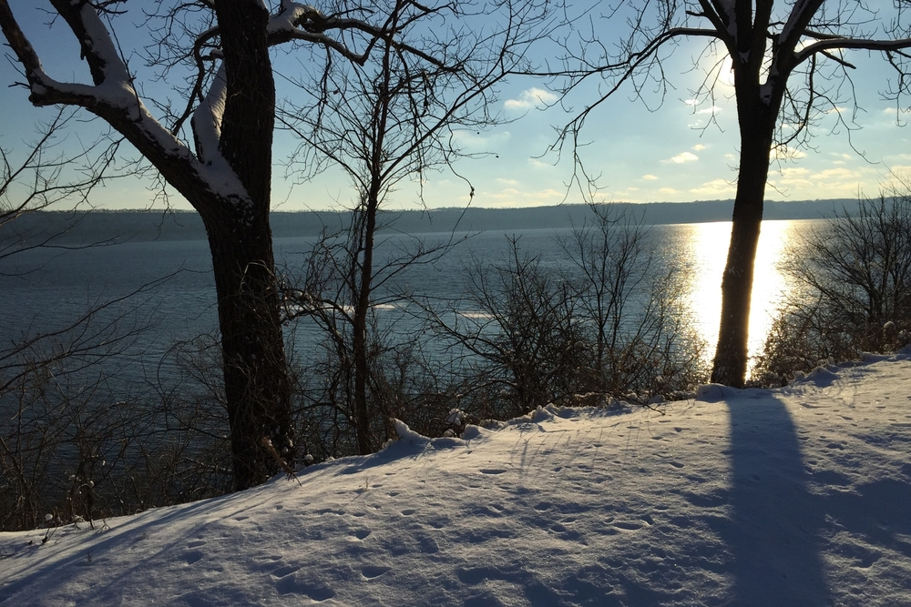 lake pepin winter