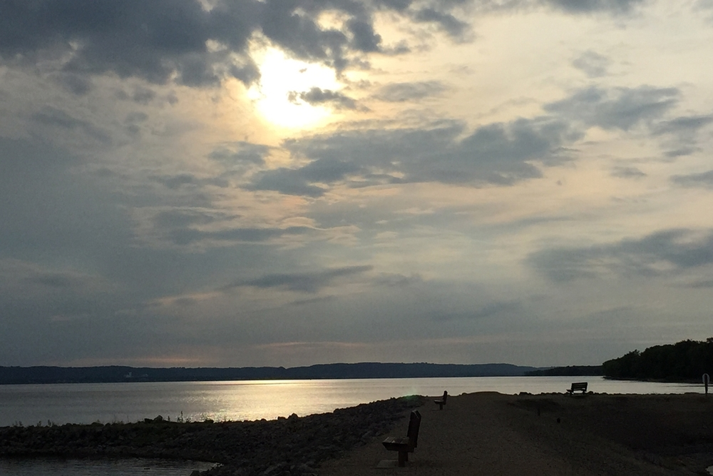 lake pepin sunset
