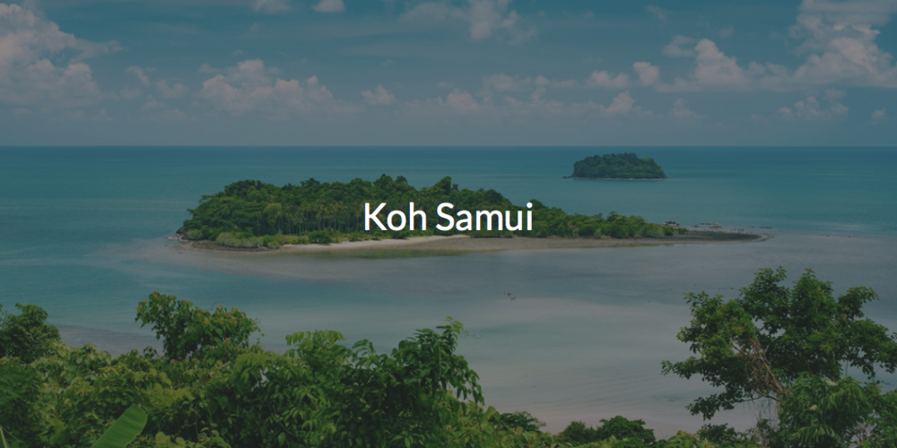 Koh Samui Hotels & Resorts Day Pass