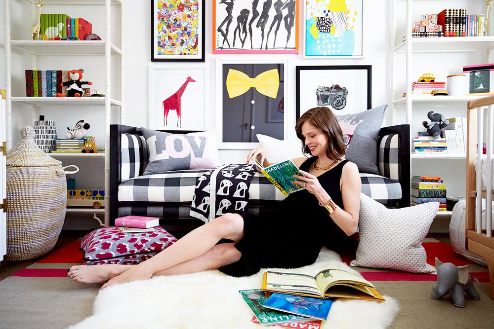 """""""Bow Tie"""" in Coco Rocha's nursery on Vogue.com"""