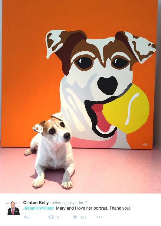 Clinton Kelly - Pet Portrait Commission