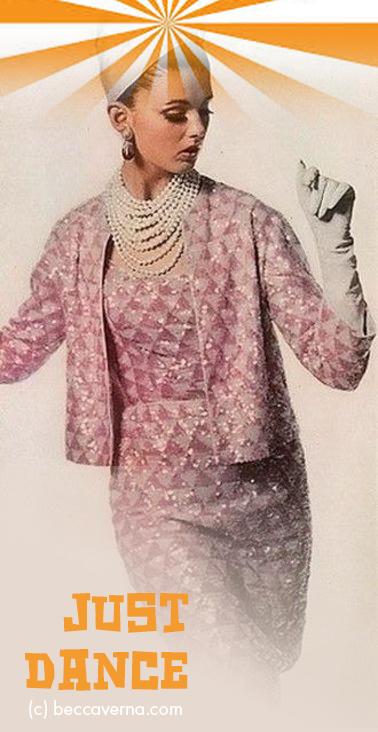Pink Lady Just Dance (C) Becca Verna Style Shop