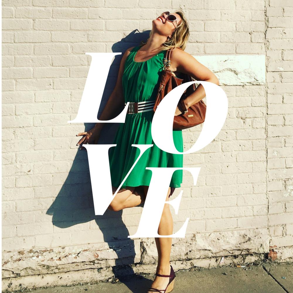 LOVE graphic (c) Becca Verna Style Shop