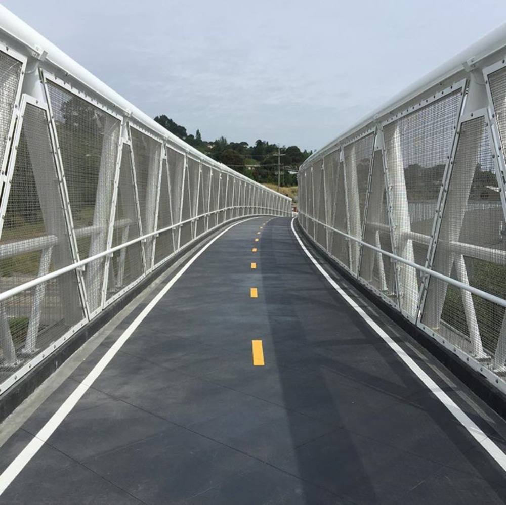 BIKE BRIDGE TO FERRY