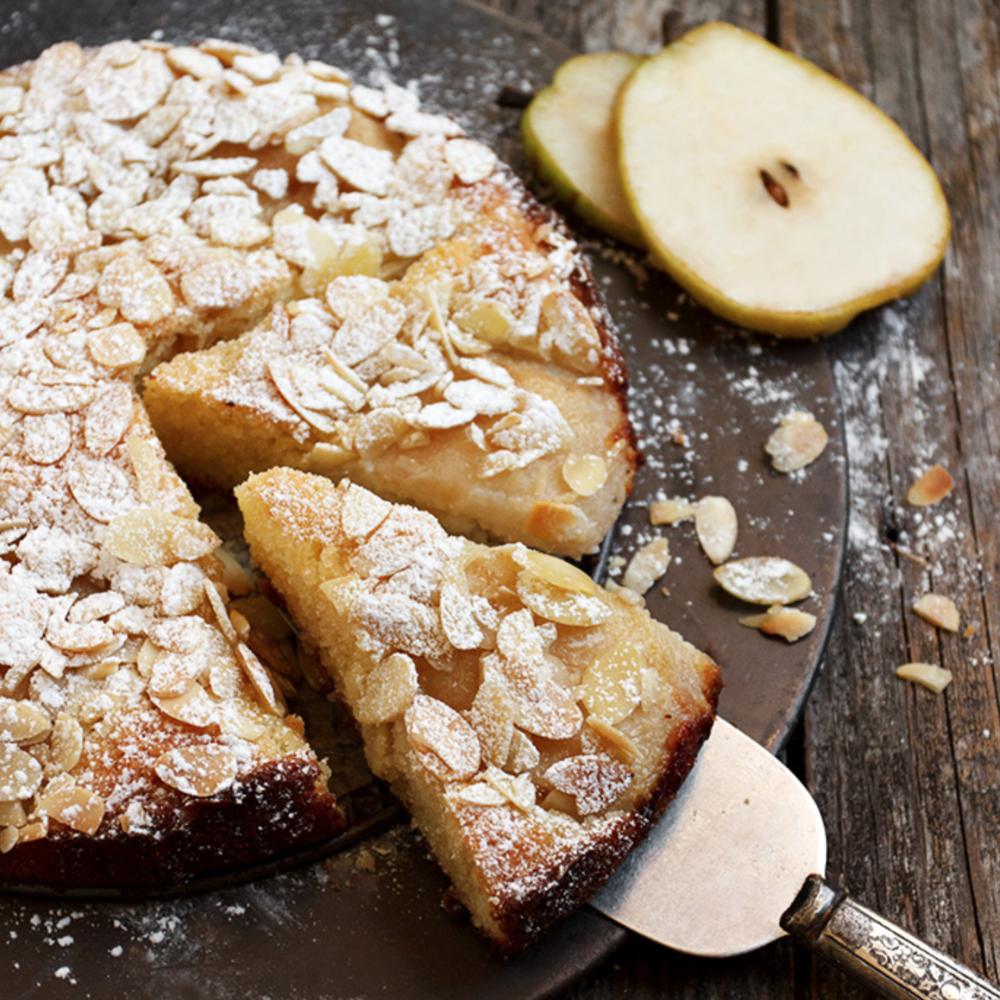 ITALIAN PEAR ALMOND CAKE -