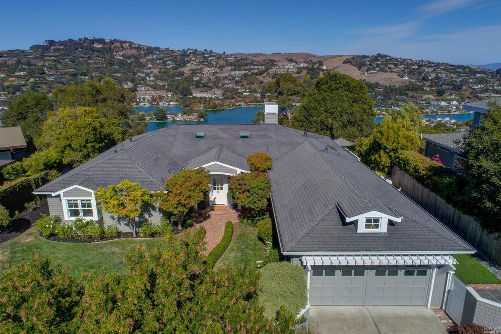 13 Britton Avenue, Belvedere, CA 94920   5 Beds / 4 Total Baths / 3,980 sq ft   Sale price: $4,125,000