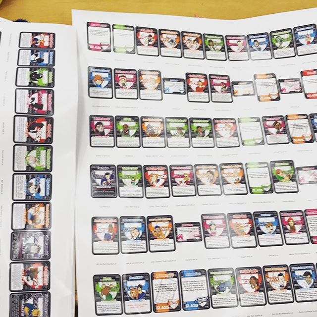 Editorial test Print sheets #SuperPartyBattle Available this September!