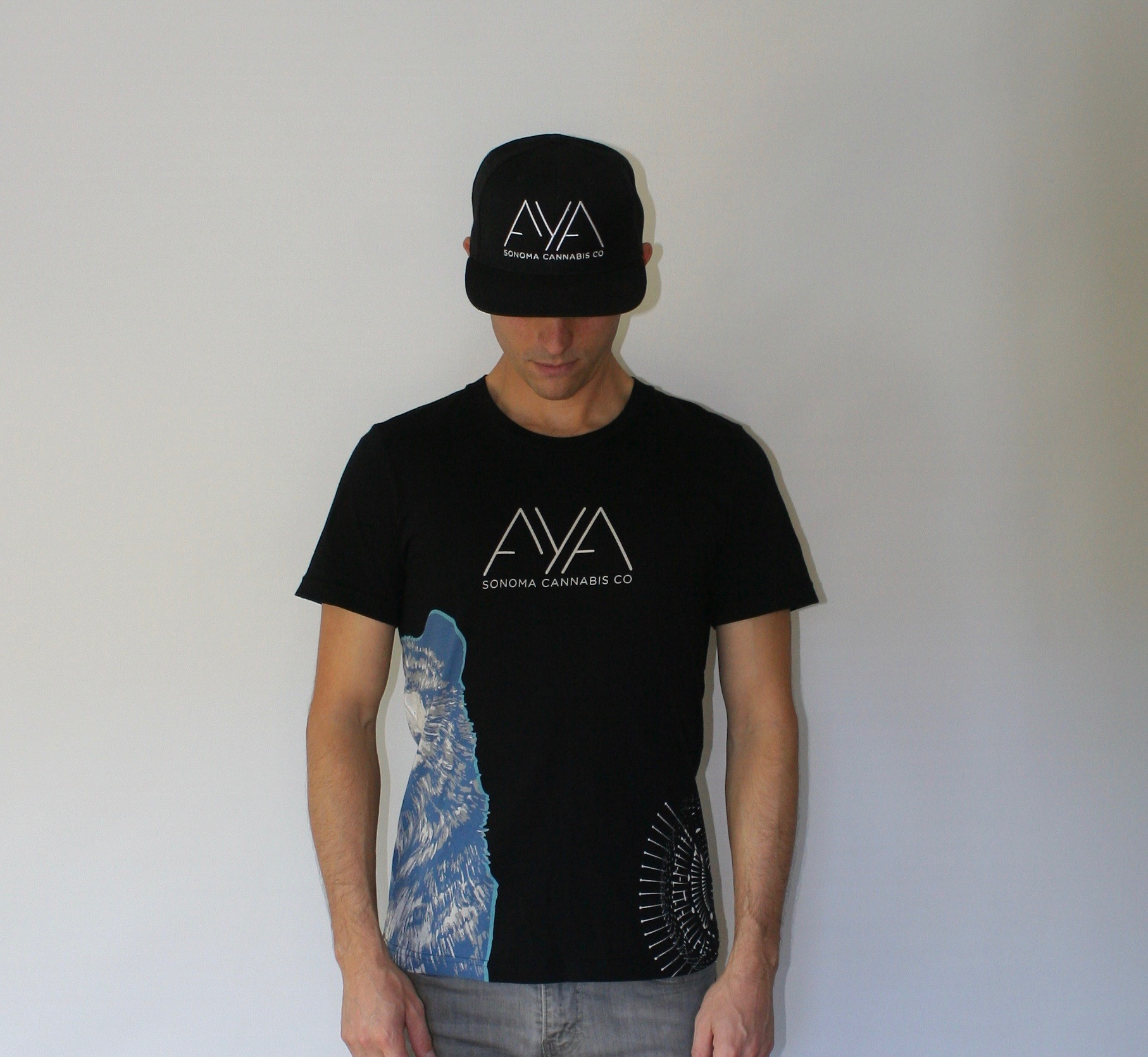 805d6c4db Men's T-Shirt — AYA by Sonoma Cannabis Company