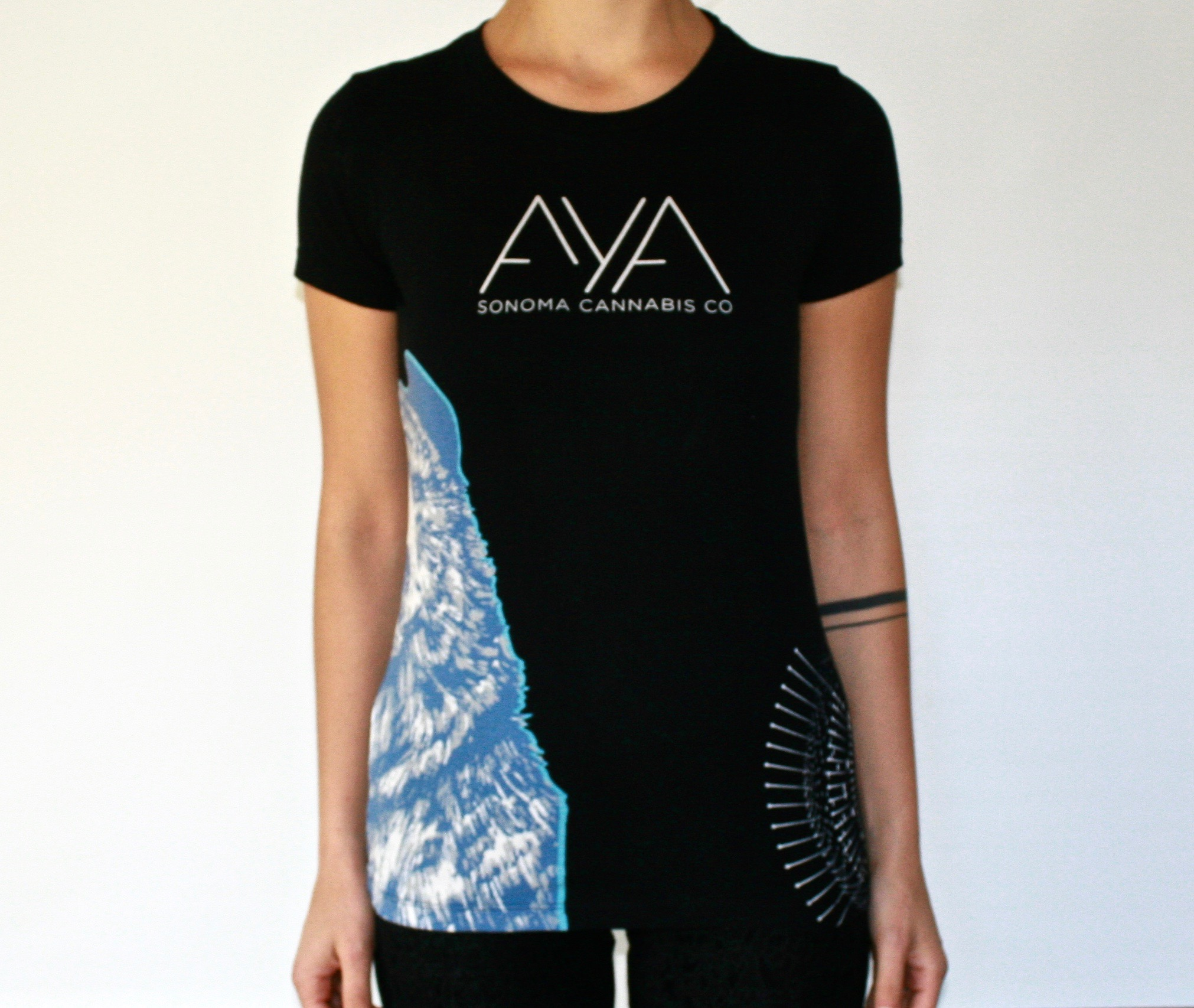 71174144a Women's T-Shirt — AYA by Sonoma Cannabis Company