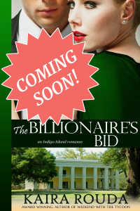 The Billionaire's Bid - Coming soon!