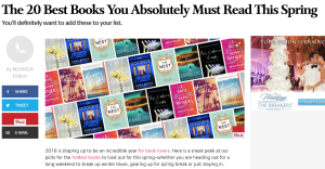 THE GOODBYE YEAR makes Redbook magazines must read list!