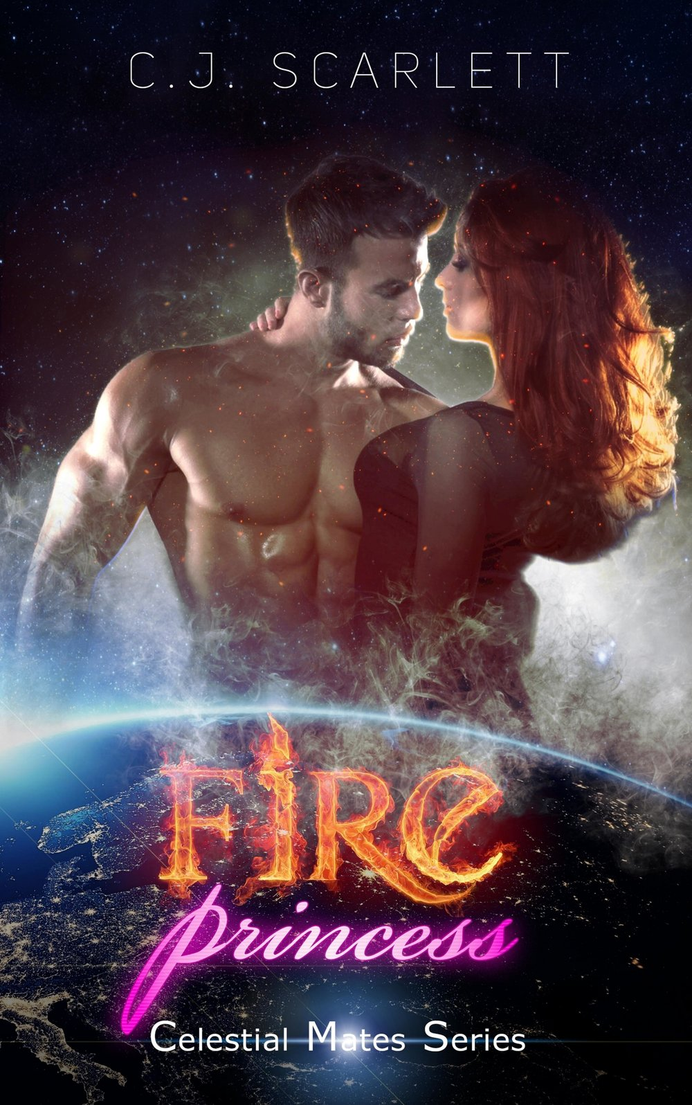 Fire Princess - C.J. Scarlett    Selene Jordan is shocked to find herself whisked away from Earth by unscrupulous aliens, bent on selling her to the highest bidder.