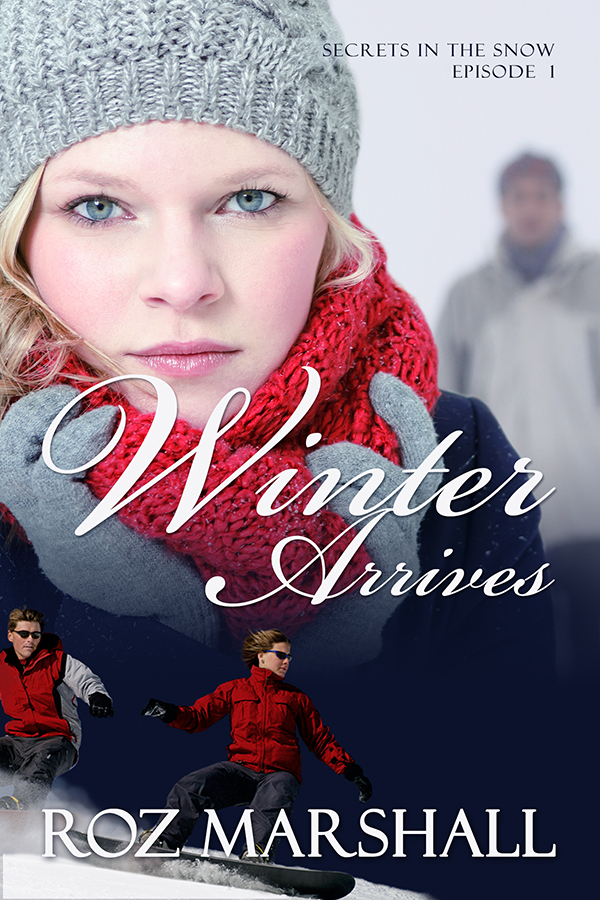 Winter Arrives - Roz Marshall    Jude Winters- creative graphic artist, mother and home-maker - has been dumped in it. With no real experience, she suddenly has to learn how to manage a Ski School, recruit a bunch of instructors, set up for the new ski season - and keep the proverbial wolf from her door.