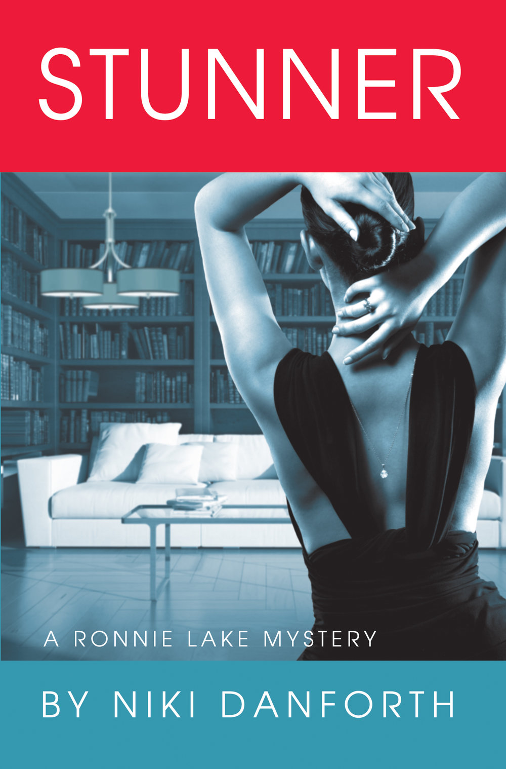 "Stunner: A Ronnie Lake Mystery - Niki Danforth    Beautiful. Bright. Possibly deadly... That's all ""accidental PI"" Ronnie Lake knows about her brother's new lover. Ronnie's determined to learn the truth before he throws away his happiness, fortune, & possibly, his life."