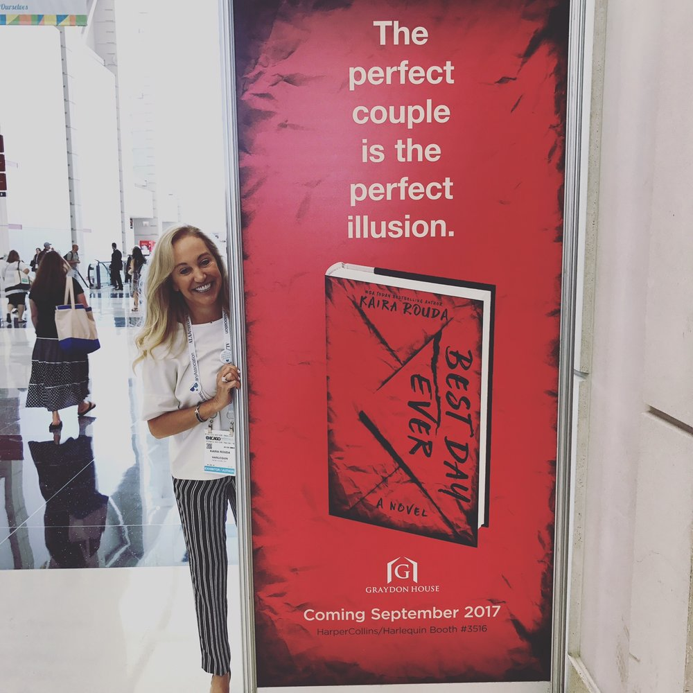 The big banner at ALA!!