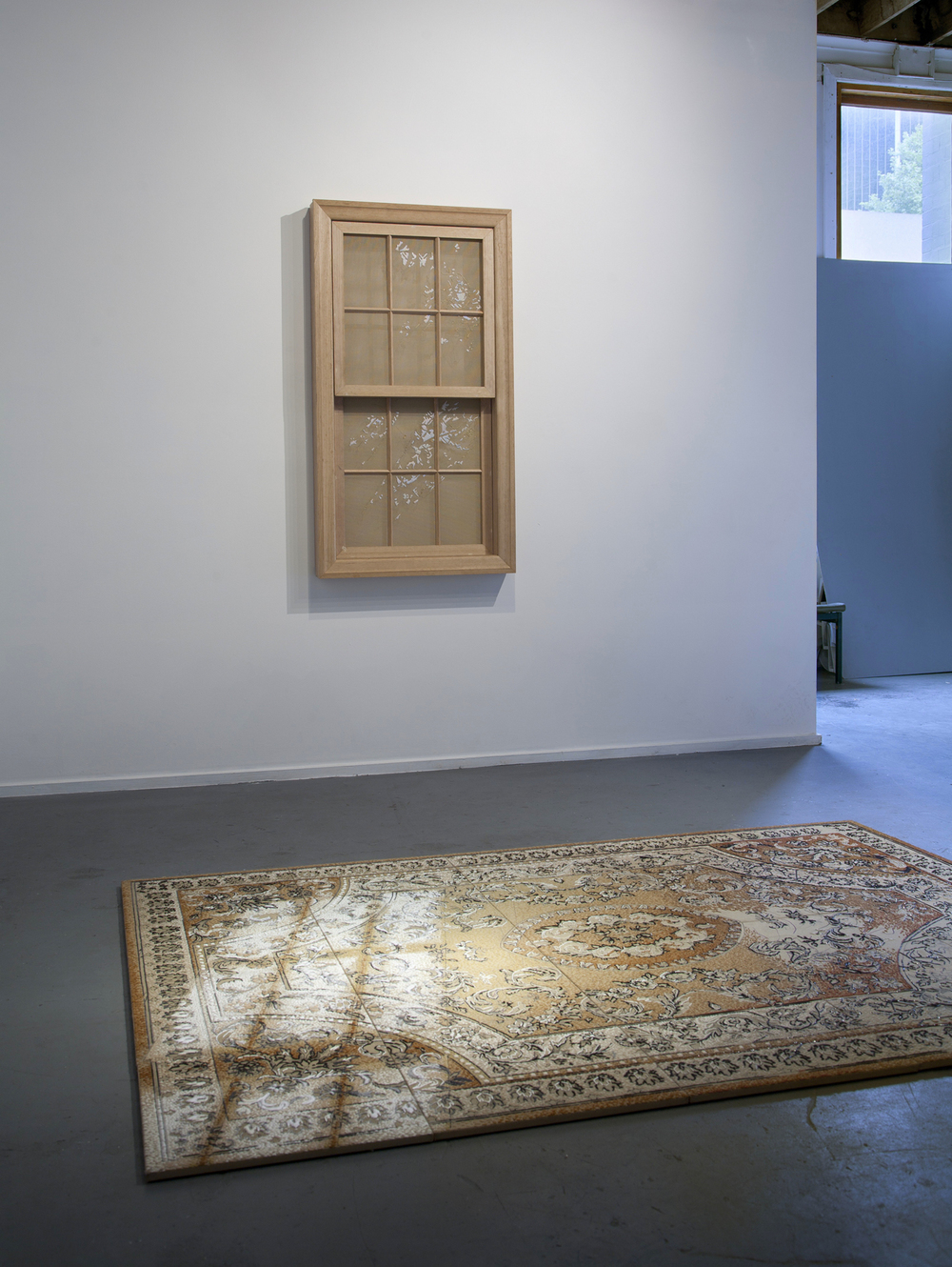 10.Georgina Cue 'Substance of Light', 2013, Acrylic yarn on tapestry canvas, Hard wood, 250cm by 250cm by 190cm.jpg