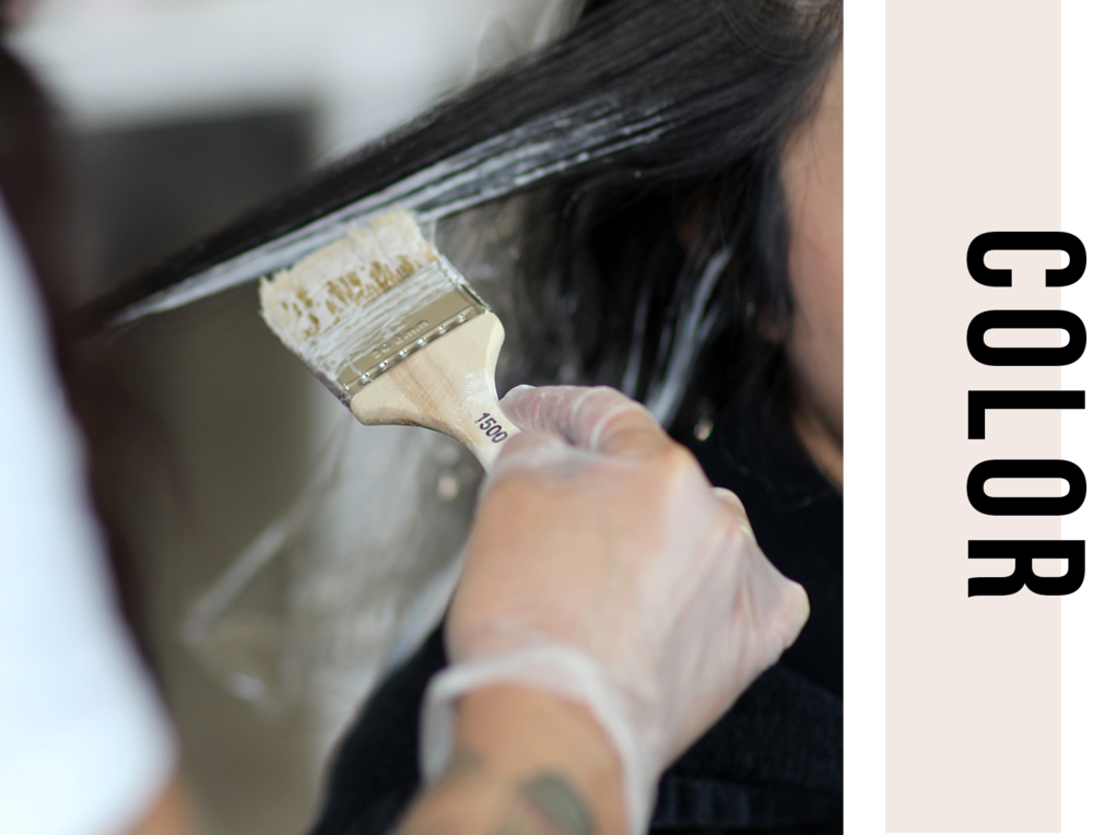 - Face Frame Highlight (Or Balayage) $145Partial Highlight (Or Balayage) $175 / $200Full Highlight (Or Balayage) $210 / $230Gloss $80Single Process Root Retouch $90 / $95Single Process + All Over Color (Root Retouch + Gloss / Color Refresh) $105 / $110Single Process with Face Frame Highlight $175 / $200Single Process with Highlights $260 / $280Retouch Double Process $225Virgin Double Process $375Color Correction or Transformation upon consultation