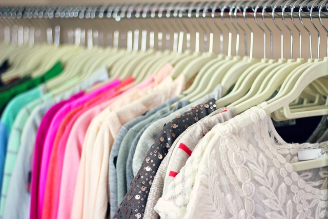 Get Rid Of Extra Hangers, Which Just Take Up Space. See If Your Dry Cleaner  Can Recycle Your Unneeded Wire Hangers.