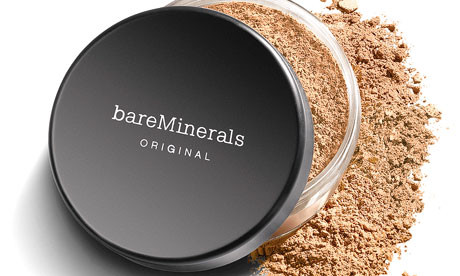 We carry the award-winning make up mineral, bareMinerals.
