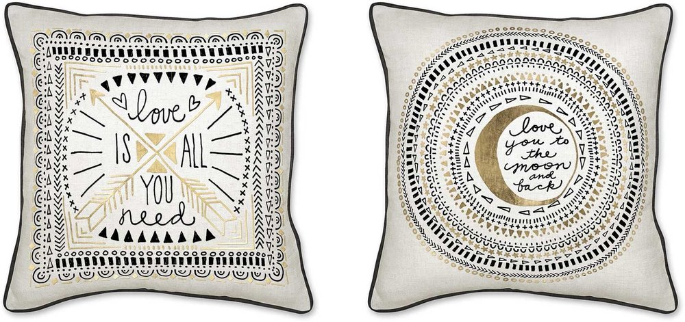 DOUBLE SIDED LOVE PILLOW