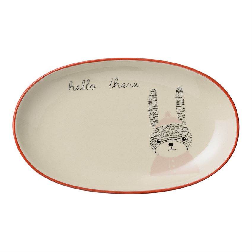 HELLO THERE CERAMIC PLATE