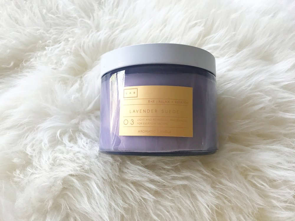 COZY MOMENTS WITH LOVELY SCENTS OF LAVENDER.