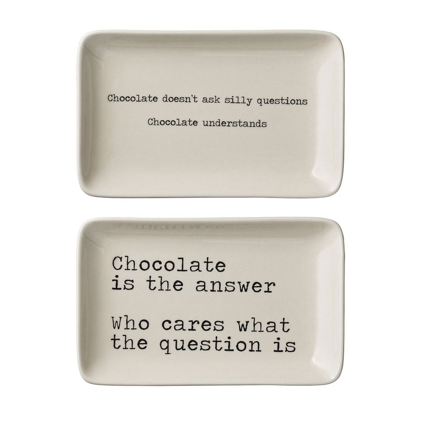 CHOCOLATE LOVER PLATES