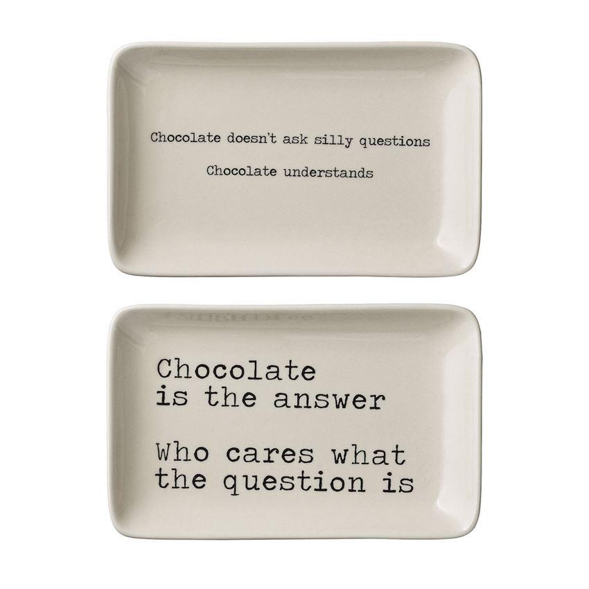 CHOCOLATE LOVER PLATES