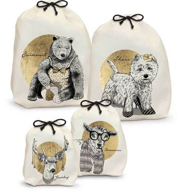 ANIMAL CHIC TRAVEL BAGS